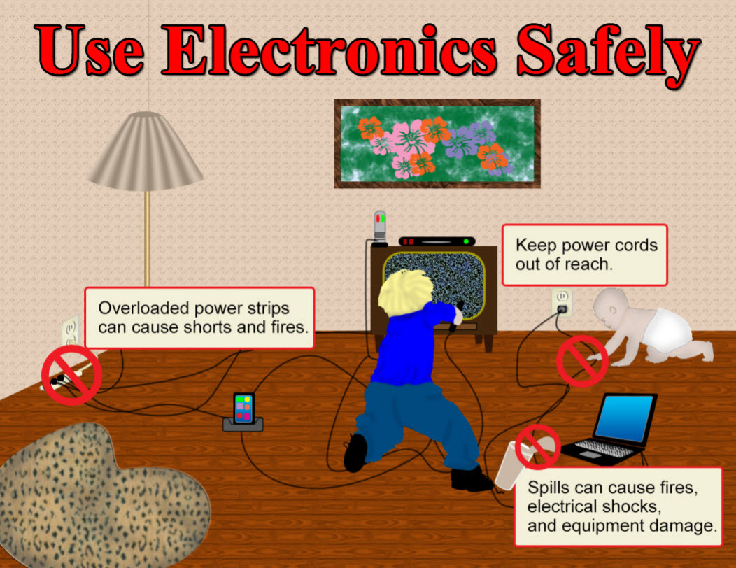 Use Electronics Safely